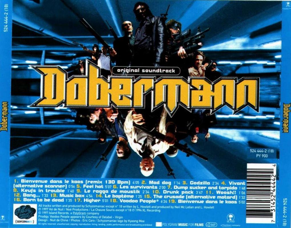 Dobermann movie soundtrack